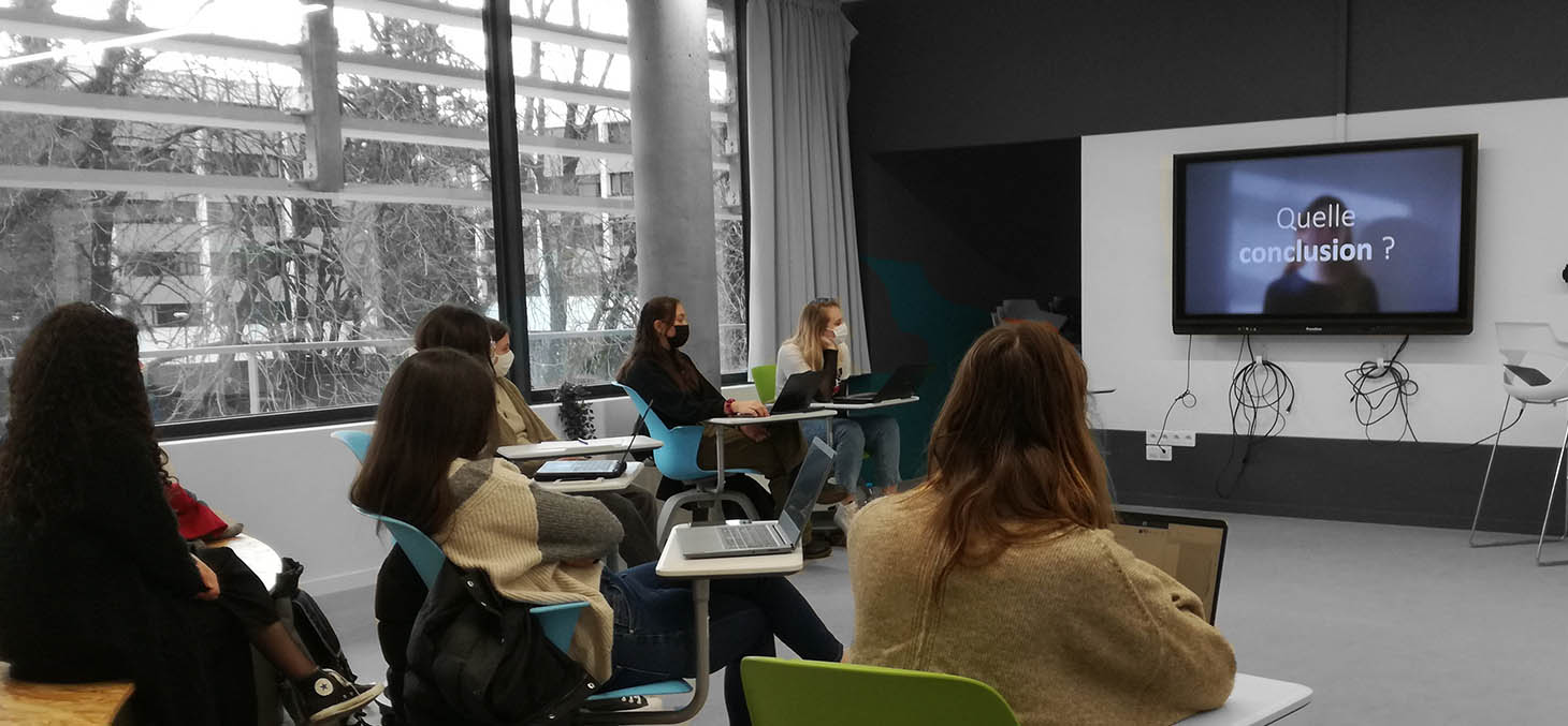 Le Cairn, présentation vidéo des étudiants de la licence SHA
